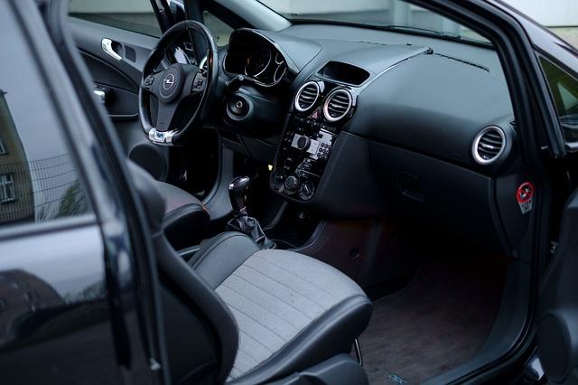 interiér auta