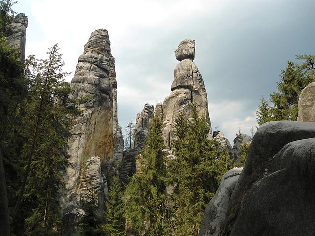 hory adršpach
